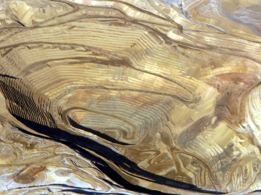 Figure 3.3 Nevada Gold Open Pit Mining