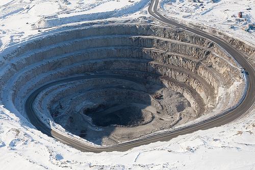 Figure 2.6 Open Pit Mining