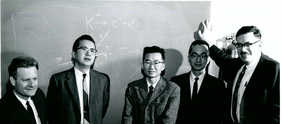 Profs. Romanowski, Wada, Tanaka, Kim, and Reibel