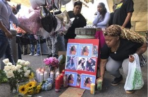 The Oakland community comes together to honor and mourn Nia Wilson, an 18-year-old fatally stabbed July 2018.