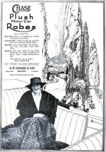 1917 Chase Car Robe  Advertisement