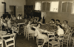 Addie Community Quilting Bee in the 1950s. Photo courtesy of the Sylva Herald and Joe McClure. Image taken from digitalheritage.org.