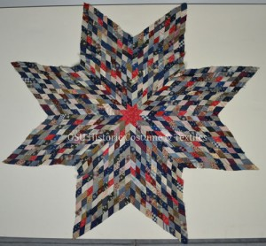 OSU HCTC Star of Bethlehem quilt top