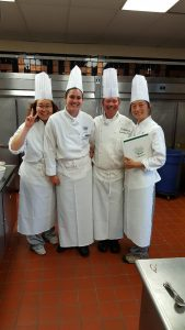 My group picture with Chef Bruno