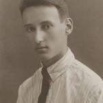 As a student in Chicago in the mid-1920s.