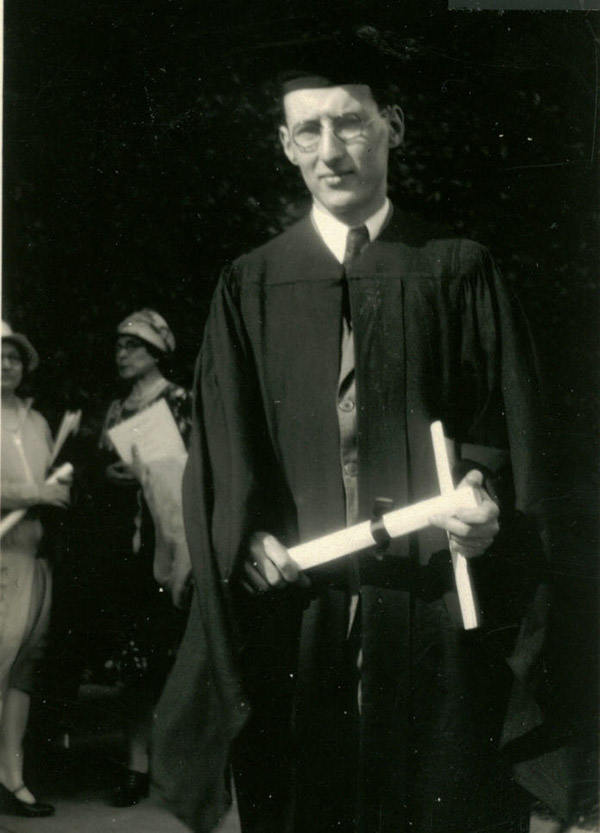 Graduation probably with Ph.D. from U. Chicago, 1931