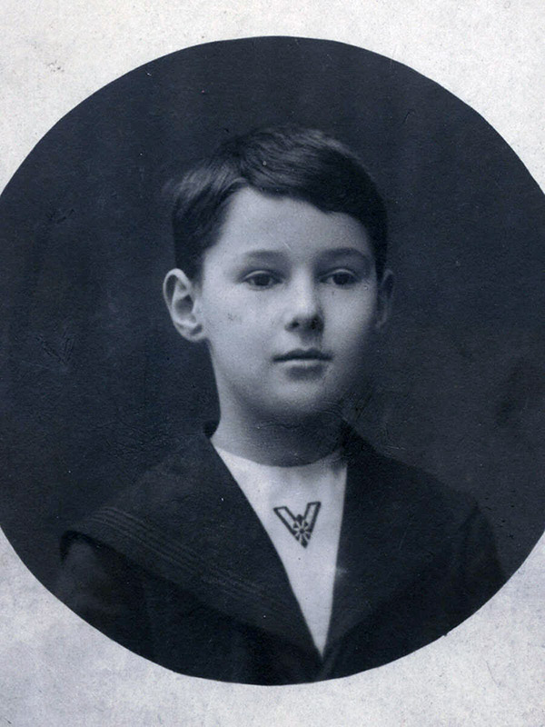 Arnold Ross before he started school.