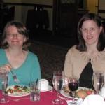 Teresa Myerson and Angela Barnhill