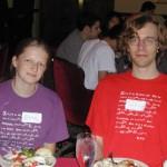 Elena Udovina and Tim Abbott