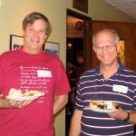 Glenn Stevens and Max Warshauer