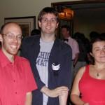 Robert Pollack, Tom Weston, and Anna Medvedovsky
