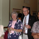 Madeline Ross, Mary and John Riedl, and Dijen Ray Chaudhuri