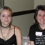 Jen Czocher and Lola Thompson