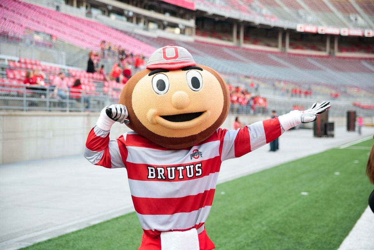 Ohio state university brutus buckeye statue - A Photo Of Modern Day Brutus