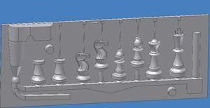 Chess Set CAD