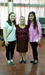 Our host mom, Gloria :)