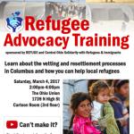 Refugee Advocacy Training