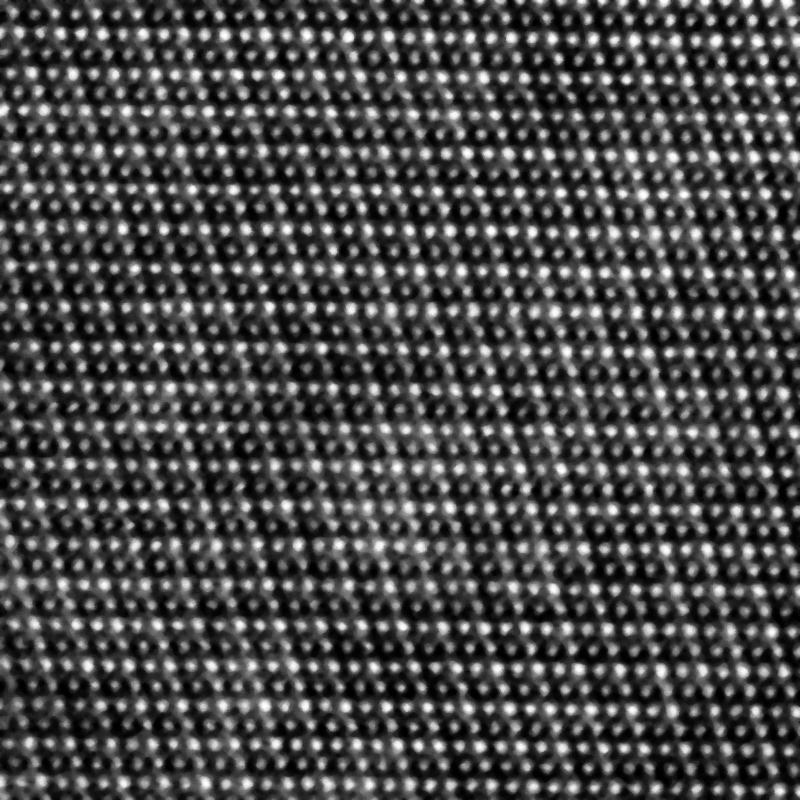 STEM image of a Nd2Ir2O7 film