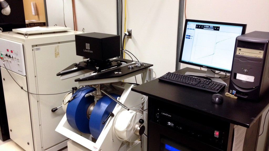 Vibrating sample magnetometer (VSM)
