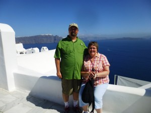 Greece (Santorini - our 25th Wedding Anniversary) 2013