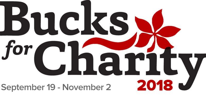 Bucks for Charity 2018 September 19 - November 2