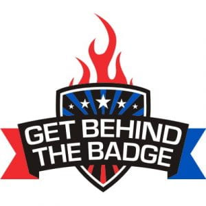 Get Behind the Badge Logo