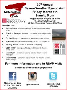 2016 Symposium Flyer