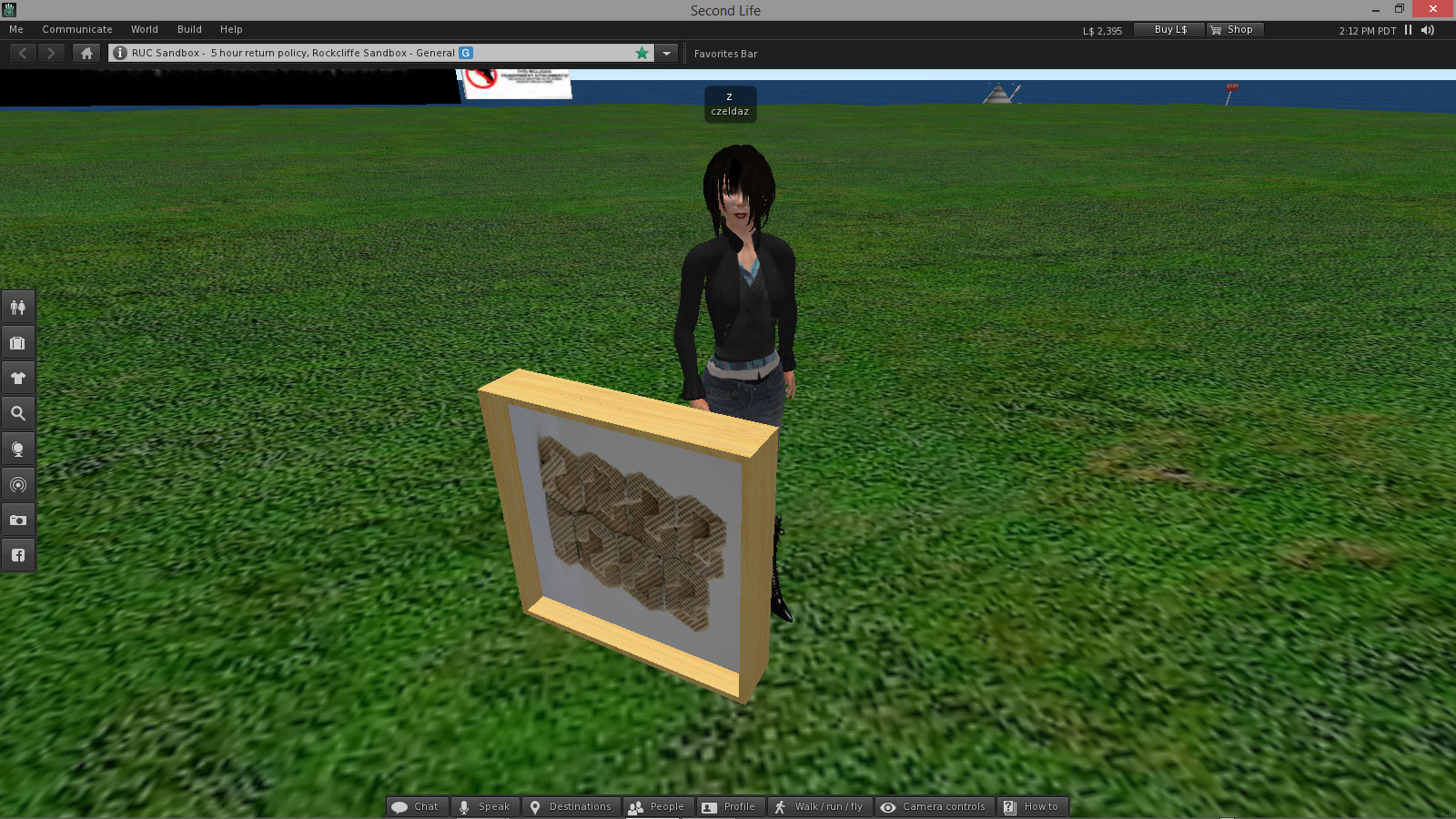 Building Basics In Second Life Virtual Worlds In Education