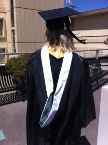 Emily, show us your USF pride! Don't hide it!