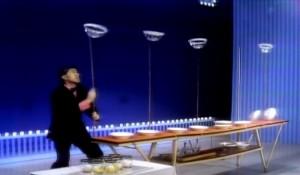 Plate spinner Erich Brenn on the Ed Sullivan Show