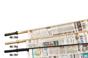 Newspaper sticks