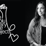Revolutionary Love Project logo and Valarie Kaur