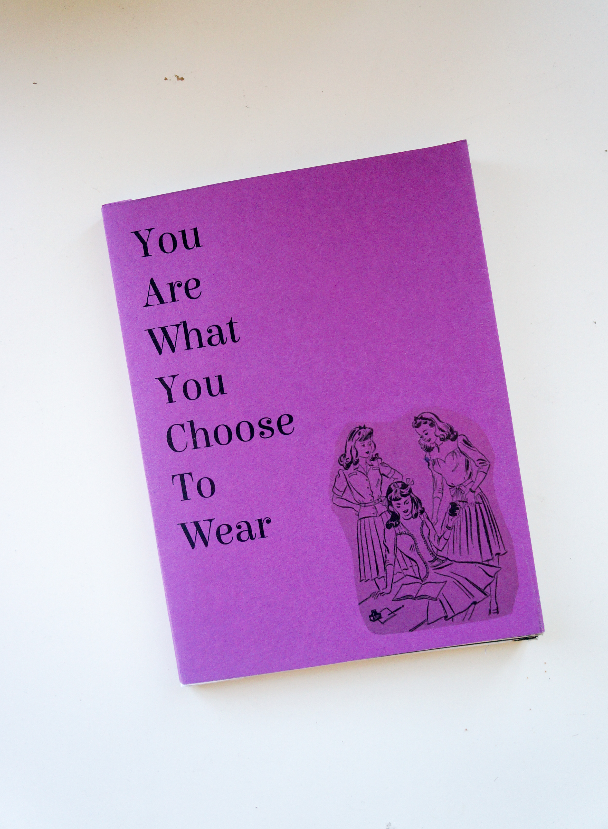"Cover of Matsumura's publication ""You Are What You Choose To Wear"""