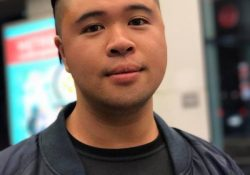 Portrait of student Christopher Sayas