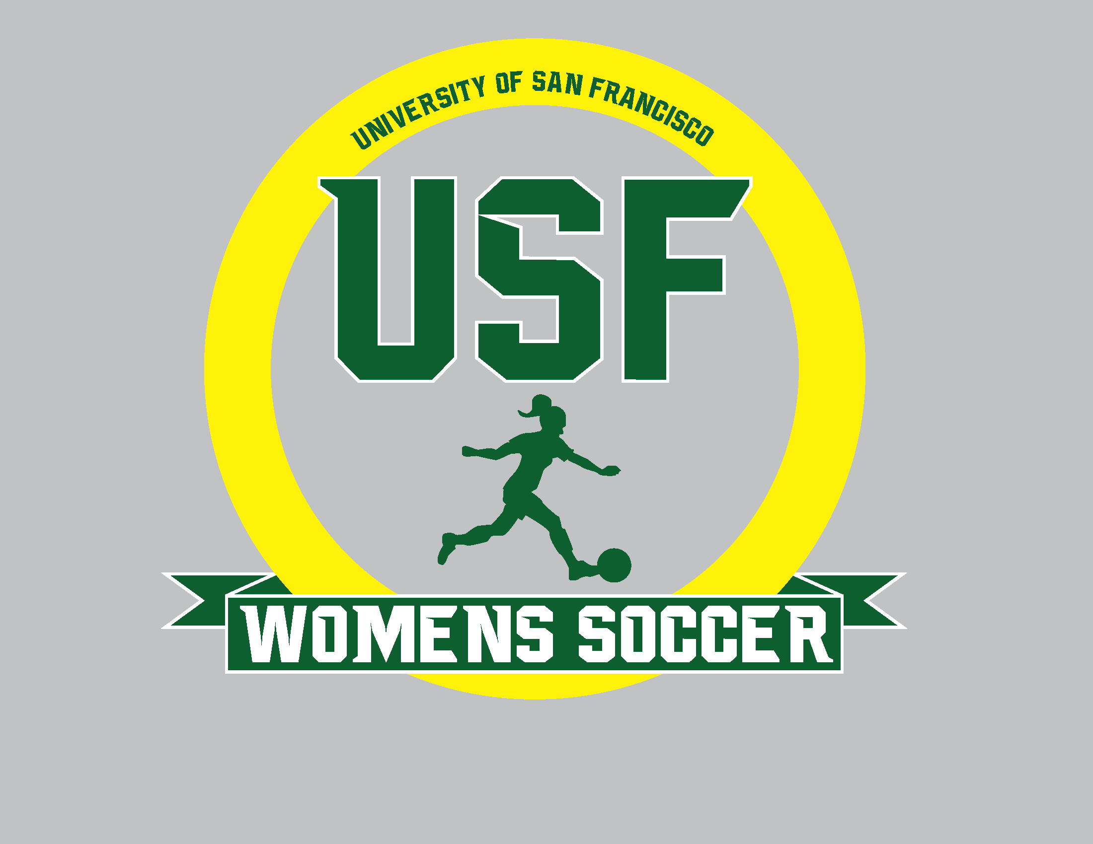 T shirt design for USF Women's soccer summer camps