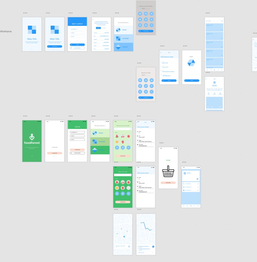 screen shot of work created for Creative Jam