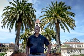 Elk Grove native and former NBA player and coach Bill Cartwright was a basketball star at USF, and is now the school's new director of special initiatives.
