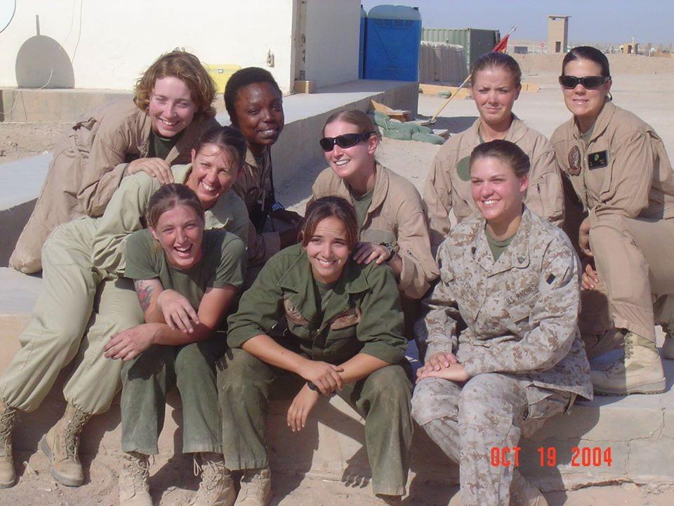 The Mighty Marines of Marine Medium Helicopter Squadron 263, Al Taqquadum Iraq, 2004.