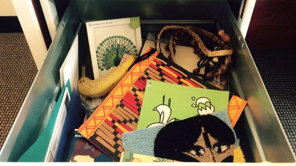 Christine Yeh's drawer