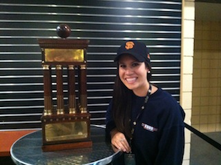 COMS major (and Giants fan!) Taylor Morton
