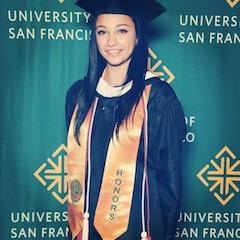2013 COMS graduate Nikka! Isn't she smart?