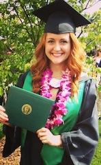 2013 COMS graduate Kelcee