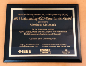 Malensek Dissertation Award