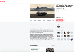 MeetUp: Portuguese