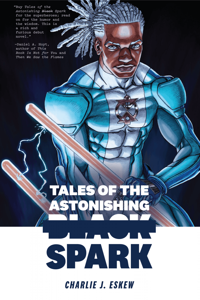 Tales of the Astonishing Black Spark book cover