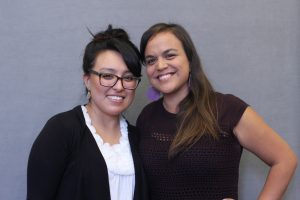 Liliana Campos Ramales and Dr. Genvieve Negrón-Gonzales