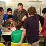 Paul Zeitz with Students at Proof School