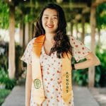 Profile Photo of Amie Lu with Graduation Stole