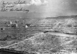 Hiroshima destroyed after the 1945 atomic bomb.