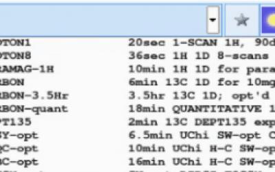 Harmonized 1H, 13C 1D, 2D Parameter Sets